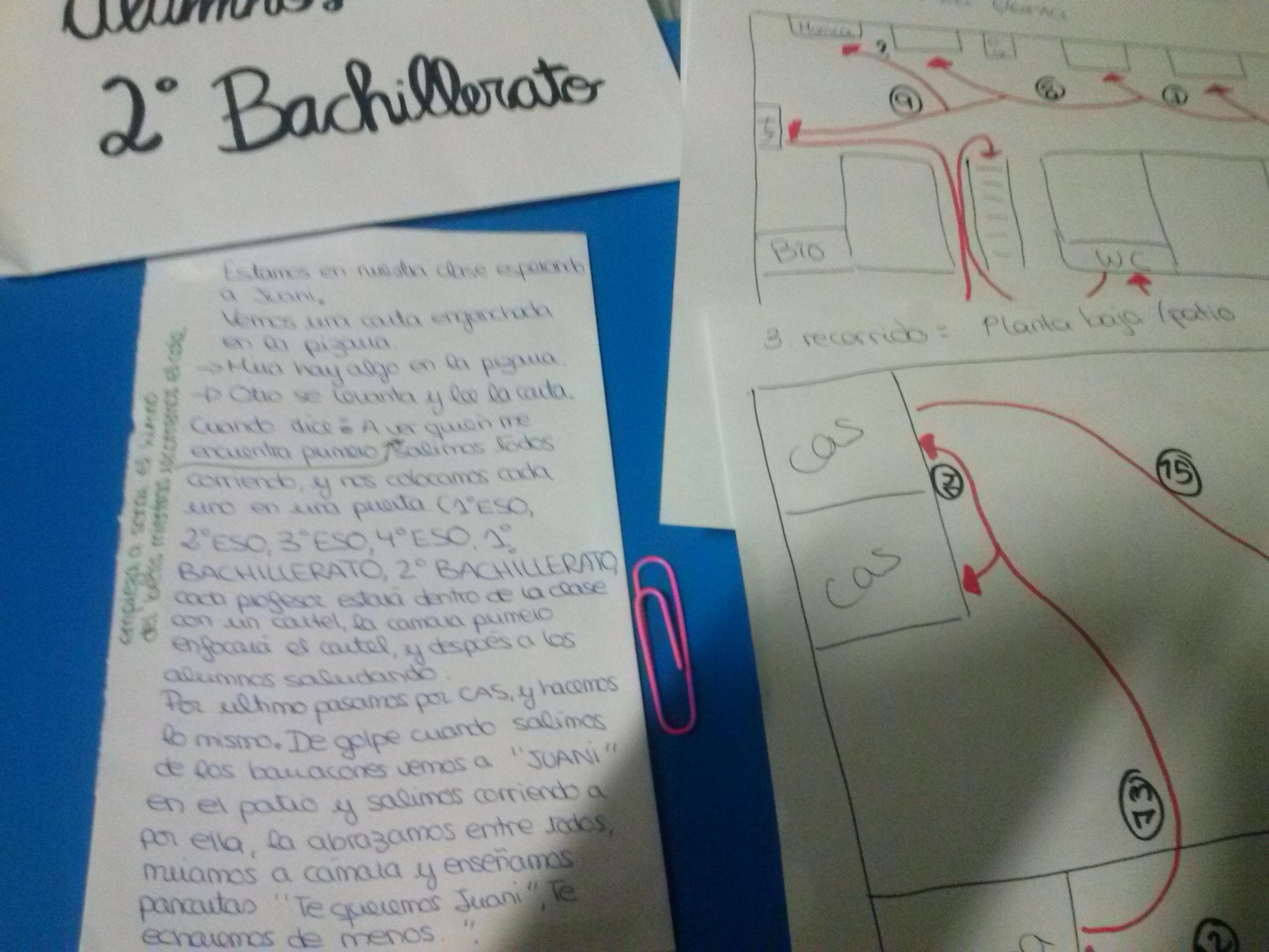 PREPARACIÓ VÍDEO HOMENATGE ALUMNES BATXILLERAT