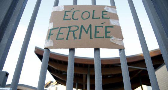 Escoles tancades a Bèlgica