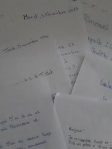 correspondència amb Lycée Jean Macé